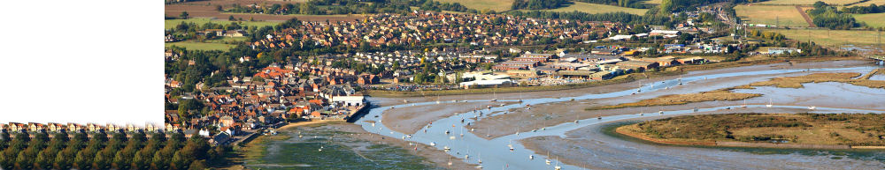 Aerial view of Manningtree