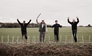 TWIG Plants 30k tree with Mike Wadham, Alan Gosling, Charlie Youthed, Clive Dawson and Emma Gosling