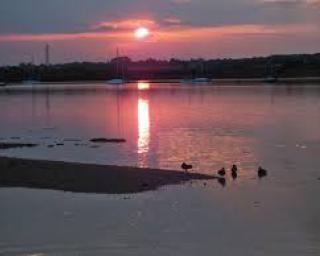 Sunset at Mistley