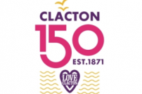 Clacton 150 logo
